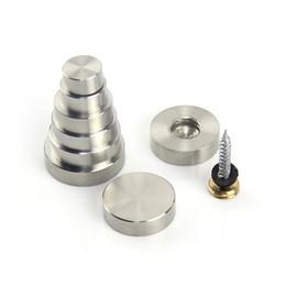 Canada Ongles en acier inoxydable décoratif solide en acrylique miroir ongles vis de publicité bricolage matériel de ménage matériel partie Offre