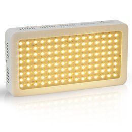 Melhor espectro completo levou crescer luzes on-line-2016 Melhor Full Spectrum 120x5 w LED 600 W Luzes Crescer para todas as fases do crescimento de plantas Hidropônico estufa iluminação suplementar