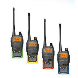 Wholesale Icom Vhf Dual - 5 color 5W Dual Band Radio Walkie Talkie HLD-660 VHF&UHF Handheld Two Way Radios Ham radios MOTOROLA ICOM HYT Transceiver quality