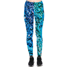 Wholesale Spot Tights - Ocean stone pants Rock spot tight Women soft gym clothing Leggings sport wear Fitness training sportwear Exercise trousers