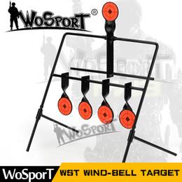 Wholesale shot target - 5-Plate Reset Shooting Target Tactical Metal Steel Slingshot BB gun Airsoft Paintball Archery Hunting Outdoor & Indoor