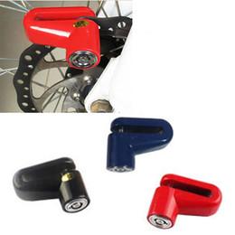 Wholesale Motorcycle Brake Discs Rotors - Anti-Theft Safety Security Motorcycle Bicycle Lock Steel Mountain Road MTB Bike Cycling Rotor Disc Brake Wheel Lock Y0028