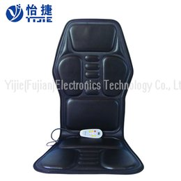 Wholesale Car Seat Therapy - Car Chair Body Massage Heat Mat Car seat massage cushion with Vibration heat Massage mat Back Massager YJ-536A