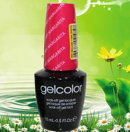 Wholesale Polish Products - 175 colors 15ml Gelcolor Soak Off UV Gel Nail Polish Beauty Care Product 175 colors Choose For Nail Art Design