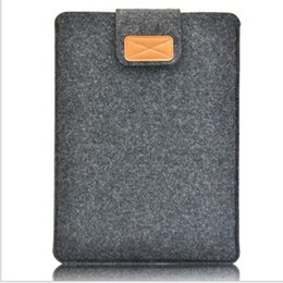 Wholesale Macbook Pro Wool Felt Sleeve - 2017 Fashion Style Wool Felt Laptop Bag Protective Sleeve Case for Macbook Air Pro Retina 11 12 13 15 inch