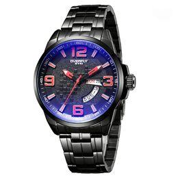 Wholesale Eyki Watches Overfly - Overfly Watch Sport Watch Cool Fashion Stainless Steel Strap Analog Date Men Quartz Watch Casual Watch Waterproof