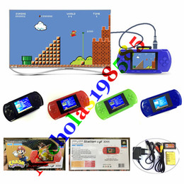 Wholesale Game Pocket Pvp - PVP 8 Bit 2.8 inch LCD Bulit-in 999999 in 1 Games Mini Portable Handheld Video Game Player Digital Pocket System Game Consoles TV AV Output
