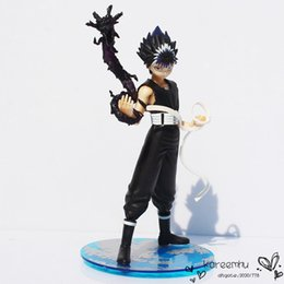 Wholesale Hakusho Figures - Retail 1piece 6 Inch Cool Anime YuYu Hakusho Hiei PVC Action Figure Collection Model Toy Free Shipping