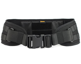 Wholesale Belt Buckle Pad - Airsoft Tactical ROGISI 10P05 CORDURA Molle Waist Padded Belt Paintball Heavy Duty Padded Belt Hunting Accessories