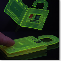 Nuovi R-SIM 10+ carta di sblocco per iPhone 6 RGKINSE R SIM 10+ per iOS 9 IOS 8 Support Tutti SIM confezione Retail da lettore di schede fornitori