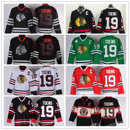 Wholesale 2017 New Chicago Blackhawk high quality NHL Hockey Jerseys Ice Jonathan Toews Jersey Men s Authentic Stitched