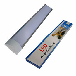 Wholesale Cool Office - 2 Ft 3 Ft 4 Ft Purification LED fixture For indoor using home office supermarket surface mounted ceiling lightSurface Mounted LED Batten D