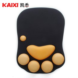 Wholesale Hand Wrist Rest Mouse Pad - Silicone massage wrist pad mouse wrist rest wrist pad mouse pad thickening comfortable anti-fatigue prevention mouse hand