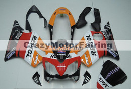 Wholesale Repsol Cbr - New 100% Fit Injection molding for HONDA CBR 600 F4i fairings 2004 2005 2006 2007 CBR600 F4i bodyworks 04 05 06 07 nice repsol