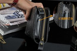 Wholesale Hd Secret Camera - Spy camera 1920*1080 HD Men women leather handbag cameras Mini DVR men purse moniter listening device spy cam For secret investigation