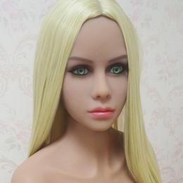 Wholesale Silicone Sex Doll Heads - big size silicone sex doll head suits for big doll 140cm 148cm 152cm 155cm 158cm 165cm 170cm