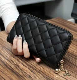 Wholesale Han Bags - Free shipping the new 2016 han edition ling madame long wallet zipper hand bag more screens wallet mobile phone packages