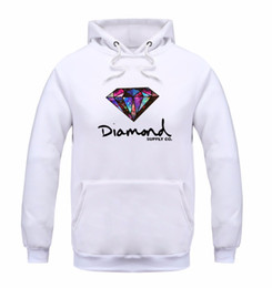 Wholesale fleece hoodie women warm - Fashion Diamond supply co men hoodie women street fleece warm sweatshirt winter autumn fashion hip hop primitive pullover