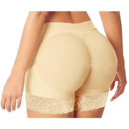 hanches bums culottes Promotion Gros-Femmes Abondantes fesses Sexy Culotte Culottes Culottes Fesses Dos Bum Rembourré Fesses Lifters Enhancer Hip Up Boxers Sous-vêtements