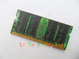 Wholesale Ddr2 Ram 2gb For Laptop - Laptop RAM For Samsung 2GB DDR2 SODIMM 667MHz PC2-5300 200pin notebook computer memory Original authentic