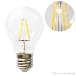 Эдисон люстры онлайн-Светодиодные лампы накаливания A60 A19 люстра лампы затемнения E27 B22 Edison лампа 360 угол 4W / 8W / 12W / 16W 110-240 В CE UL Гарантия 3 года