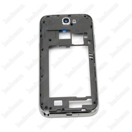 Wholesale Galaxy Note Replacement Parts - OEM Middle Frame Rear back Frame With Parts Replacement for Samsung Galaxy Note 2 II N7100 Housing +Side Free DHL