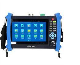 Schermo del monitor cctv online-IPC-8600 7'LCD Touch Keystoke schermo telecamera di sicurezza IP CCTV tester monitor con HD CVI, TVI AHD, IPC, SDI, CVBS 6 in 1 camera test fuction
