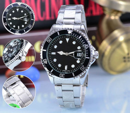 Wholesale Watches For Women Gold Fashion - 40 mm AAA quality luxury brand automatic quartz watches date men's fashion leisure sports men watch Suitable for men and women