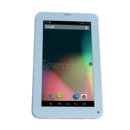 Wholesale Free China Call - 7 Inch 86V Allwinner A33 Quad Core 2G unlocked Phablet Android 4.4 Bluetooth Wifi Phone Call Tablet PC 3000mAh flashlight free shipping