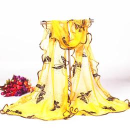 Deutschland Eleganter klassischer Damenschal wickelte den Gazeschal ein, der das Schockieren des Sonnenschirmschalgroßhandelsherstellers bronziert, der große Schmetterlingsfrauen-Art und Weiseschal umreißt Versorgung