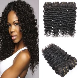Wholesale Cheap Unprocessed Deep Wave Hair - Deep Wave Brazilian Human Hair Bundles 100% Unprocessed Cheap Hair Extensions 3pcs lot Brazilian Virgin Hair Weave Wholesale price