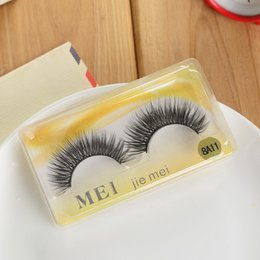 Wholesale Lowest Price Hair Extensions - Low price False Eye Lashes Tool Hand Made Thick Eyelashes Hair B High end Eyelash Extensions Natural Long Factory