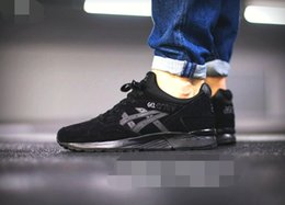 Wholesale Cheap New Volleyball - Whosale 2016 New Asics Gel-Lyte V Men Women Running Shoes High Quality Cheap Training Lightweight Online Retro Basketball Shoes 36-45