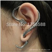 Wholesale Snake Ear Wraps Wholesales - Wholesale-2016 new cool personalized earrings ear wrap cuff clip snake earring jewelry accessory free shipping wholesale