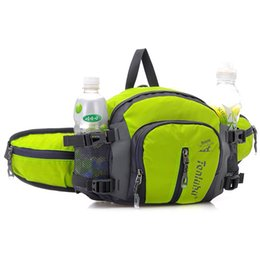 Wholesale cheap sports bag - 2017 New fashion women men sport bags waist bag outdoor riding running hiking bags cheap price wholesale