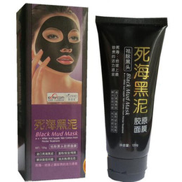 Wholesale Dead Head - 120g Dead See Black Mud Mast BlackHead Remover Peel Off Facial Mask Black Heads Removers Skin Care Pore Cleaner for Acne Treatment