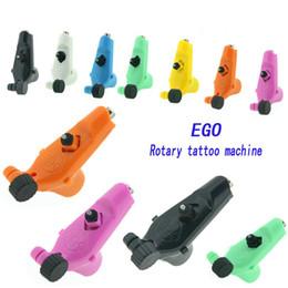 Ego lichter online-Ego Rotary Tattoo Maschinengewehr 7 Farben erhältlich Light Weight Supply für Tattoos Machine Kits New Legend Versandkostenfrei