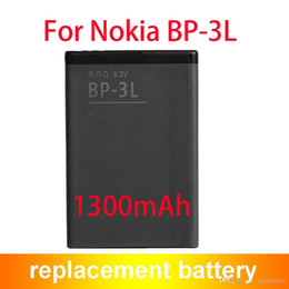 Wholesale Bp 3l Battery - Best Quality Battery BP-3L BP3L For Nokia Lumia Sabre 710 900 ASHA 303 603 1300mAh
