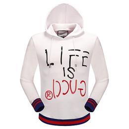 Wholesale Slim Jumper - G-Home Italian brand sweater Hoodies Men Hip Hop Jackets Pullover Hoodie Jumper Sweatshirts Winter Sport Coat Man Hoody Black M-3XL G619