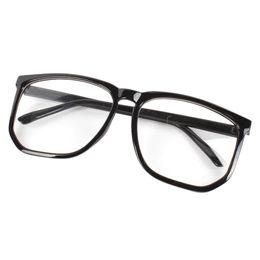 Al por mayor-Square Eyewear Frame Unisex para mujer para hombre lente clara Nerd Geek Glasses Eyewear desde fabricantes