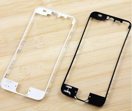 Wholesale Iphone Mid Frame Black - New LCD Digitizer Touch Holder Mid Middle Frame Bezel Housing Replacement for iphone 5S Black White