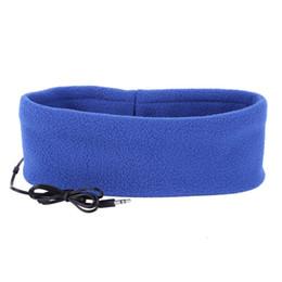 2019 máscaras de telefone Atacado-Soft Sleeping Headphone Sports Máscara Headband fone de ouvido fone de ouvido para celular Q70 máscaras de telefone barato