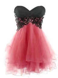 Corail chérie robe de bal courte en Ligne-Sexy Foil robes de bal courtes Homecoming Graduation robe avec sweetheart robe de bal rouge Royal Blue Coral Lime Tulle