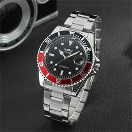 Wholesale winner automatic full black - Fashion Brand Winner Watches Genuine Full hollow men's automatic mechanical watches Stainless Steel Watch strap Luxury Watches Wholesale