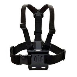 Wholesale Universal Go Pro Accessories Body Chest Mount Chesty Harness Shoulder Strap for Gopro Hero Xiaomi Xiaoyi Camera