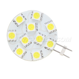 Wholesale 24v Led Dimmable - 10 Led 5050 SMD Dimmable G4 Lamp AC DC10-30V Car Boat Camper Spot Accent Lighting Home and Office usage