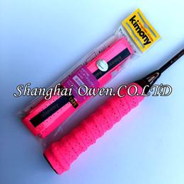 Wholesale Orange Sweatbands - Wholesale-Free shipping 50 pcs KIMONY anti-skid Tennis Racket Overgrip Badminton rackets over Grips