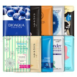 Wholesale Nourish Cleaner - Brand 10Pcs Face Skin Care Facial Mask Set 30g Brightening Nourishing Moisturizing Oil Control Shrink Pores Brightening