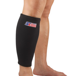 Wholesale Leg Support Sports - SX561 Sport Calf Stretch Brace Support Protector Shin Running Bandage Leg Sleeve Compression