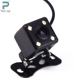 Wholesale Night Vision Mini Reverse Camera - Car Reverse Parking Rear View Camera Mini Universal 4 LED 120 Degree Night Vision with Waterproof Feature for Backup Monitor